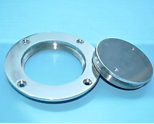 "Marine 4"" 316 Stainless Steel Inspection Deck Plate for Boat"