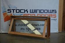 Timber Awning Window 450h x 929w - Double Glazed (BRAND NEW SITTING IN STOCK)