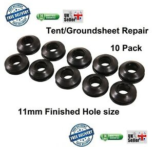 Tarpaulin Repair 11mm Eyelet pack Durable Self Hole Repair Sealing Canvas Tools