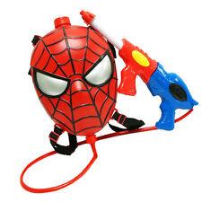 Marvel Spider Man Backpack Water Gun Squirt Toy Boys Kids Child Summer Play