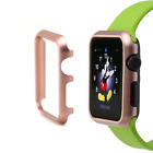 Aluminium Hülle + Displayschutz, Alu Case + Screenprotector, Apple Watch Bundle