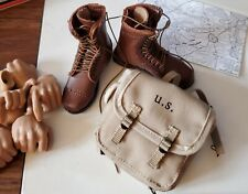 1/6 Facepool Platoon Leader Boots And Backpack