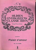 """"""" PLAISIR D'AMOUR """"  von Jean Martini"""