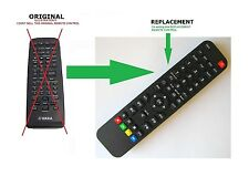 For YAMAHA Remote control Fernbedienung Télécommande For RX-V440 RX-V450 RX-V457