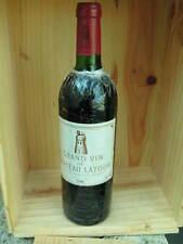 Chateau latour 1980 pauillac bordeaux rouge