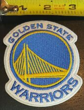 """Golden State Warriors 3"""" Iron/Sew On Patch NBA team logo FREE SHIPPING FROM U.S."""