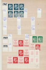 FRANCE - Definitives Collection 1967-1987 MNH**