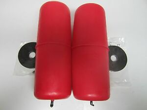 Air Lift Replacement Air Spring Red Cylinder Type Rear Pair (2) 60318
