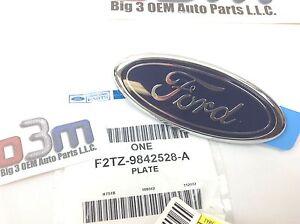 Ford Explorer lift gate Ranger tail gate rear Blue Oval Emblem nameplate OEM new