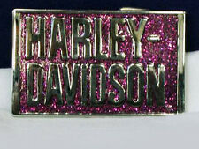 HARLEY DAVIDSON LADIES GLITTER ROCK STAR  BUCKLE