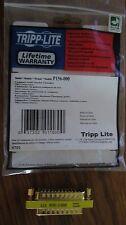 Tripp Lite P156-000 Compact Gender Changer Db25m To Db25m Gold (p156000)