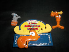 THE ADVENTURES OF ROCKY and BULLWINKLE REFRIGERATOR FRIDGE MAGNET 3 PIECE SET