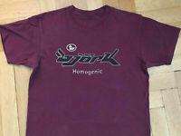 Vintage verry RARE!! 97 Bjork Homogenic' tour t shirt new reprint.@!