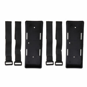 2X Plastic Case Tray Bracket For 1/10 1/8 RC Cars Axial SCX10 D90 Battery Box