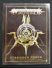 Forbidden Power Campaign Book, Tokens, Terrain Warscrolls Warhammer Age Sigmar