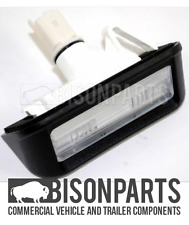 *FIAT SCUDO (2007 - 2012) REAR NUMBER PLATE LAMP 6340G7 - CIT058