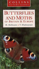 Collins Nature Guide - Butterflies and Moths, Good Condition Book, Marktanner, T