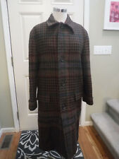 WOMENS RALPH LAUREN 100% WOOL HOUNDSTOOTH LONG TRENCH COAT 6 NICE!