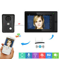 Wired+ Wireless Wifi Remote Video Camera Phone Intercom Home Security Doorbell