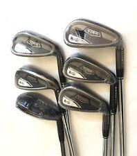Adams Idea V4 Iron set 5H, 6H, 7-PW, Regular Flex, Steel & Graphite, Right Hand
