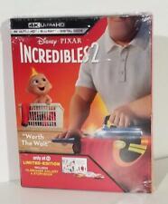 Disney Incredibles 2 4K Uhd Blu-ray Digital Target Exclusive Digipak slip New