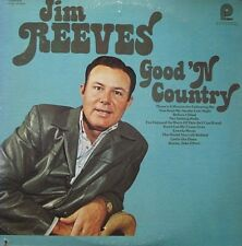 JIM REEVES - GOOD 'N COUNTRY -  LP