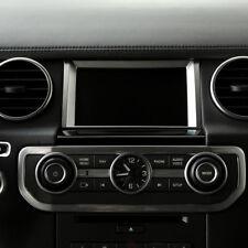 Chrome Navigation Screen Decoration Trim For Land Rover Discovery 4 2010-2016