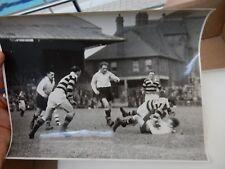 1947 ORIGINAL PRESS PHOTO  RUGBY  LEEDS v CASTLEFORD   21x15cm  HEADINGLEY A