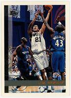 1997-98 Topps Tim Duncan Rookie card #115 RC Basketball San Antonio Spurs