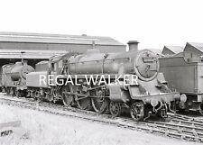 BRITISH RAIL RAILWAY STEAM PHOTO 1960'S - STANDARD 4 75062 DARLINGTON WORKS 1964