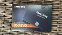 "Samsung 860 EVO SATA III 2.5"" Internal SSD 2TB"