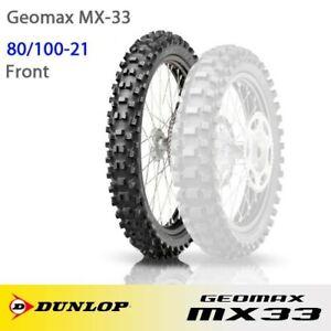 Dunlop Geomax MX33 80/100-21 for Husqvarna FC 250 2018 2019 2020 2021
