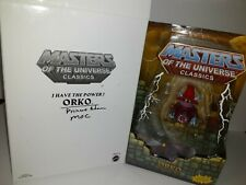 Masters of the universe classics Orko and Prince Adam with Mailer