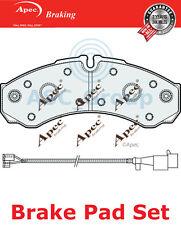 Apec Bremsbeläge Satz OE Qualität Ersatzteil mit Blinker PAD2078