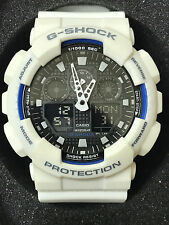 Casio G-Shock GA100B-7A White Resin Watch
