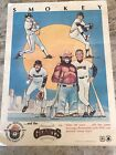 Rare 1984 Smokey Wildfire Prevention Poster Featuring THE GIANTS Baseball Team