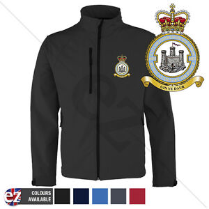 RAF Royal Aux Air Force 603 - Softshell Jacket - Personalised text available