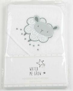 Baby Sheep Boys Girls Hooded Towel Unisex Bath Robe Shower Wrap Newborn