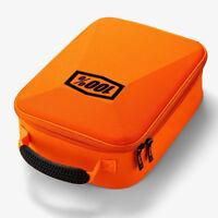 100% fluo Orange MX Goggle Case - MX Enduro Goggle Case