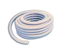 30 mt guaina spiralata flessibile grigia Ø 16 mm in pvc tubo corrugato