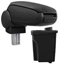 [pro.tec]® Reposabrazos Hyundai I30 GD tela negro apoyabrazos ajuste perfecto