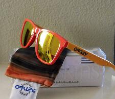 NIB 100% Authentic Oakley Frogskins Aquatique Hotspot w/ Fire Iridium No. 24-359