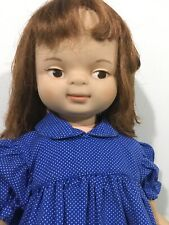 Hard To Find 1961 Chuckles 22� Doll as Found American Toy Co Character 1 year