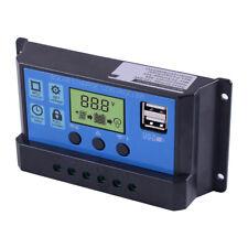 30A Dual USB LCD Solar Laderegler Regler Batterieladung Controller Regulator