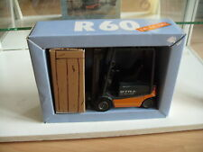 NZG Still R 60-25 Fork Lift Truck in Orange/Grey on 1:25 in Box