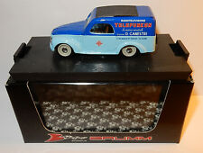 BRUMM FIAT 500 C FOURGONNETTE BELVEDERE TELEFUNKEN ASSISTENZA 1950 R355 BOX 1/43