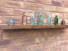 Rustic Floating Shelf All Reclaimed Wood