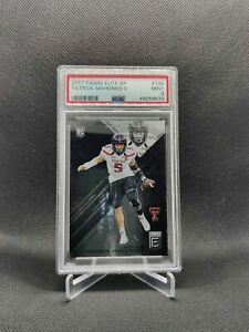 Patrick Mahomes 2017 Panini Elite Draft Picks Rookie PSA 9 Mint