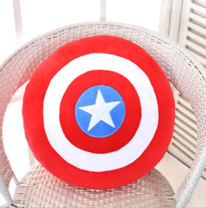 40cmThe Avengers Captain America Shield Schild Plüsch Spielzeug Stofftier Kissen