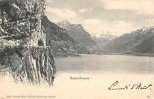 Sisikon Switzerland Axenstrasse Antique Postcard J45441